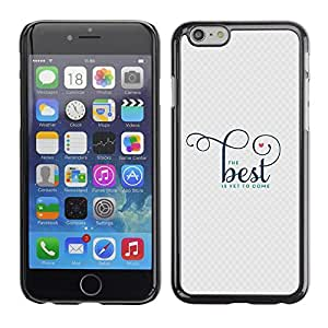 Planetar® ( Good Best Better Quote Motivational ) Apple (5.5 inches!!!) iPhone 6+ Plus / 6S+ Plus Fundas Cover Cubre Hard Case Cover