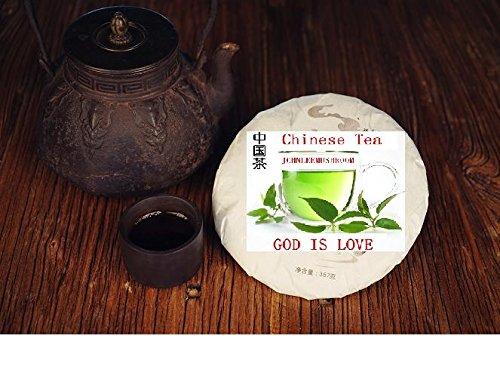 Pu erh black tea, Highest grade fermented puer tea 357 grams tea cake