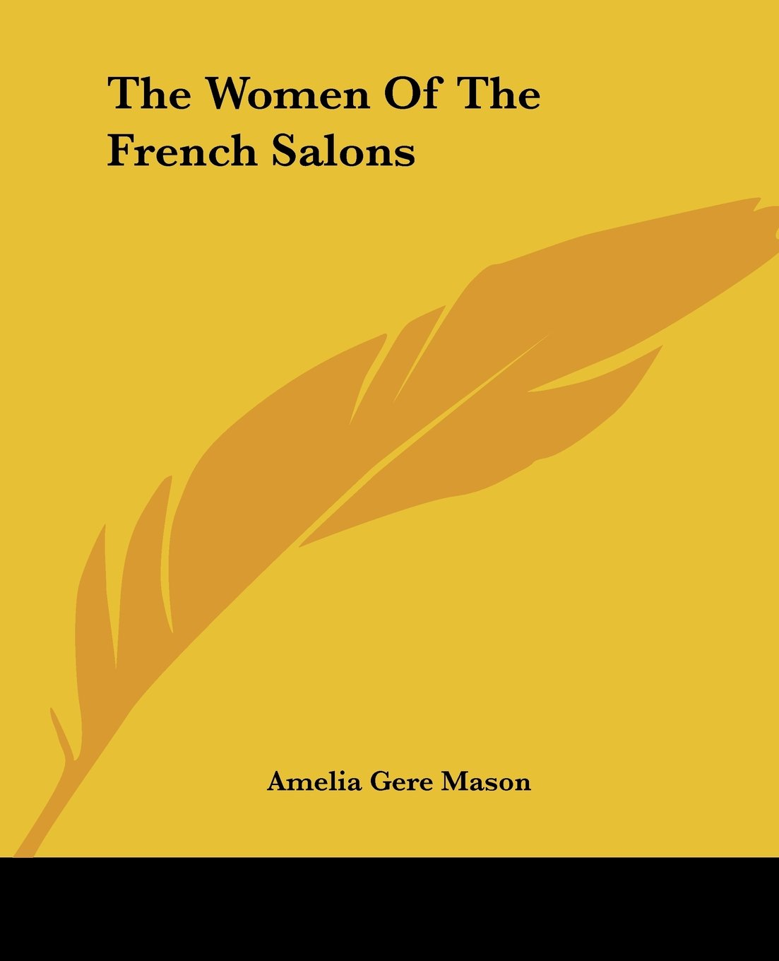 The Women Of The French Salons pdf