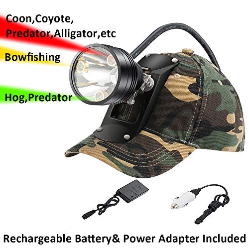 Cree LED Hunting Lights with Red & Green...