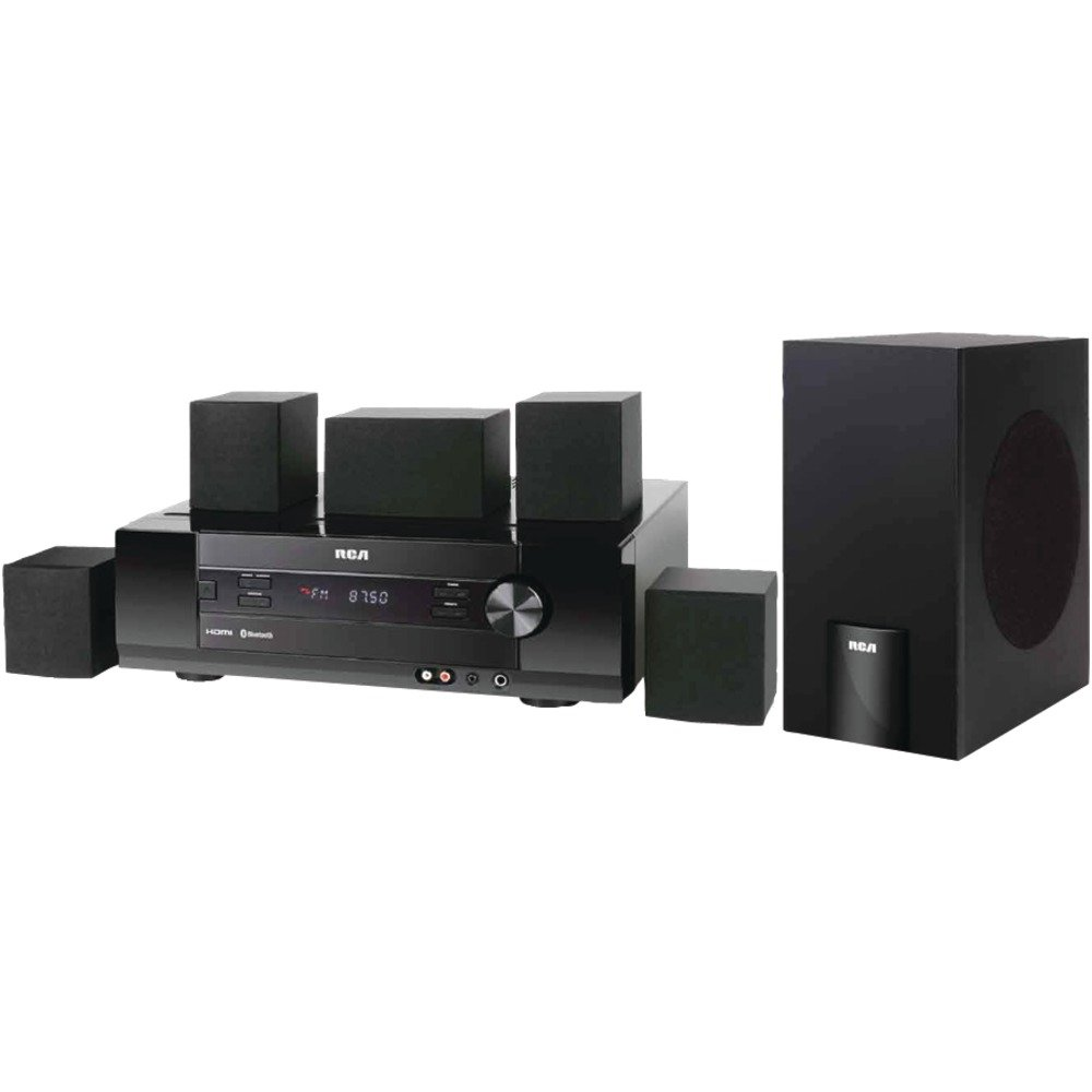 amazon com rca rt2781h 5 1 home theater system 1000 w rms home  amazon com rca rt2781h 5 1 home theater system 1000 w rms home audio & theater