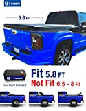 Tyger Auto TG-BC3C1003 TRI-FOLD Truck Bed Tonneau Cover 2007-2013 Chevy Silverado / GMC Sierra 1500 (Excl. 2007 Classic)   Fleetside 5.8' Bed