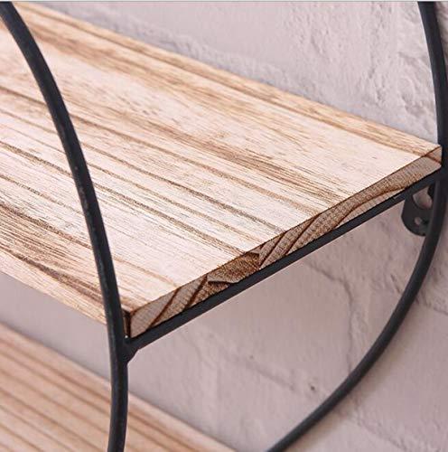 Peach ferro battuto mensola muro in in in legno scaffali vintage solido legno raccordo rack parete creativa partizioni-50  50cm | il prezzo delle concessioni  | elegante  | La qualità prima  1d8bce