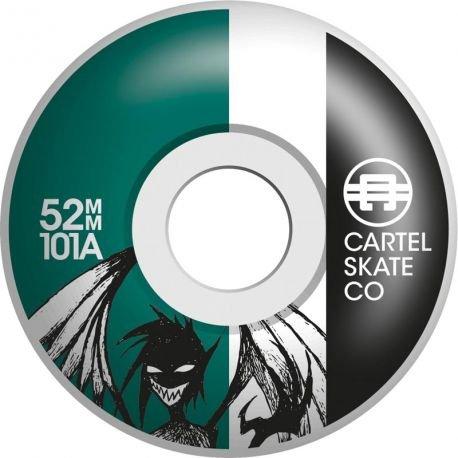 Cartel Demon Teal - Monopatín Infantil (7,5 cm): Amazon.es ...