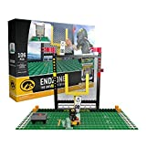 OYO NCAA Iowa Hawkeyes End Zone Set Gen 2 Buildable Kit, Small, Black