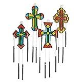 Cross Suncatcher Wind Chimes