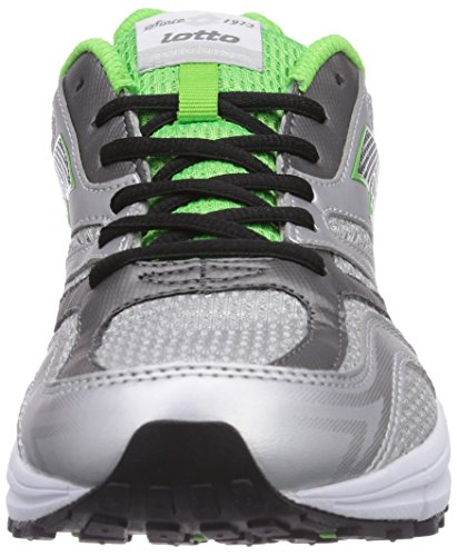 Lotto Sport Zenith V, Men's Running Shoes Multi-coloured - Mehrfarbig (Met Sil/Fl Mint)
