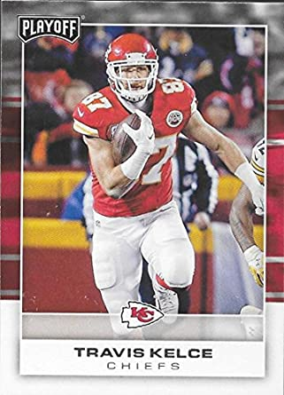 96a121a6 Amazon.com: 2017 Panini Playoff #44 Travis Kelce NM-MT Chiefs ...