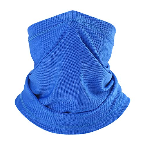 (SUNMECI Neck Gaiter Sun Protection Sweat Headband Breathable Face Mask for Fishing Camping Cycling Hiking)