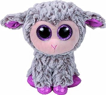 63fef1a156e TY 36871 Beanie Boos - Dixie the Lamb 15cm  Amazon.co.uk  Toys   Games