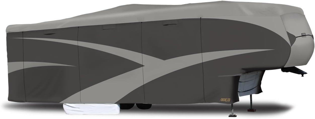 ADCO 52251 Designer Series SFS AquaShed Grey up to 23 5th Wheel Trailer RV Cover