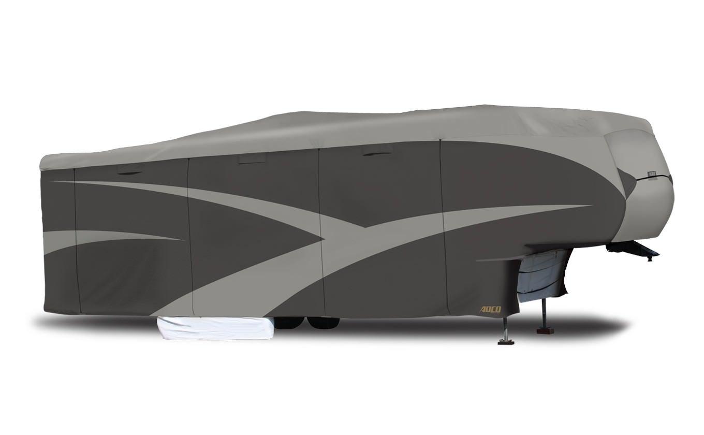 ADCO 52258 Designer Series SFS Aqua Shed 5th Wheel RV Cover - 40'1'' - 43'6'' ,Gray by ADCO (Image #1)