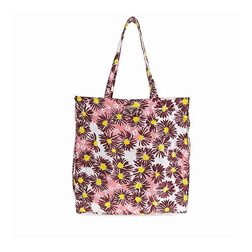 Prada Floral Nylon Tote - - Prada Bag Floral
