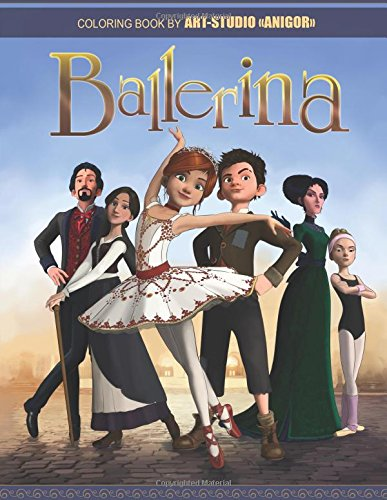 Gorgeous Ballerina (Ballerina: Gorgeous Coloring Book for Kids and Adults (2016, 2017))