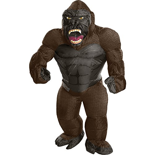 Rubie's Costume Kong: Skull Island Child's Inflatable King Kong Costume, Multicolor, One Size - Famous Costumes For Halloween