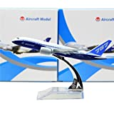Boeing 787 Dreamliner 16cm Metal Airplane Models Child Birthday Gift Plane Models Home Decoration by HANGHANG