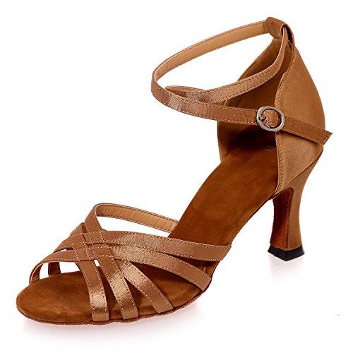 L@YC MáS Sandalias De Color Y Zapatos De Baile Se Pueden Personalizar / Multicolor / De Gran TamañO Brown