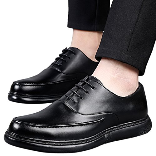 for Oxford Dress Mens Black1 Wing Perforated Shoes Casual Lace Tip Shoes Brogue Santimon Shoes qS4EPTnEd