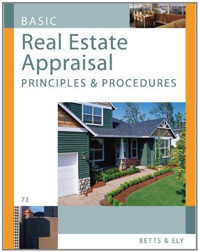Basic Real Estate Appraisal: Principles and Procedures (with CD-ROM) (Real Basic Estate Appraisal)