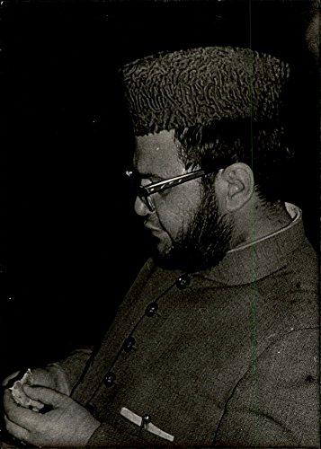 Vintage photo of Side view of Pir Sahib Manki Sharif.