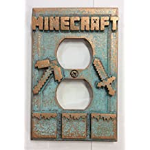 Minecraft - Outlet Cover (Aged Patina)