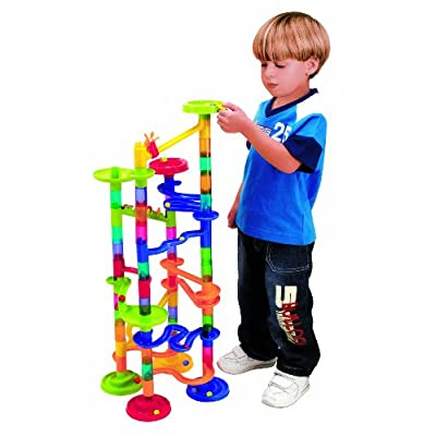 PlayGo Marble Race Deluxe Building, 100-Piece: Toys & Games