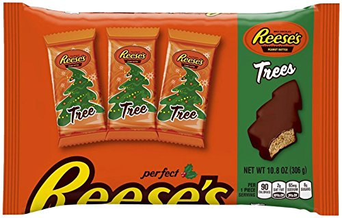Reese's Trees - Peanut Butter Milk Chocolate, 10.8 Ounce (Christmas Tree Sampler)