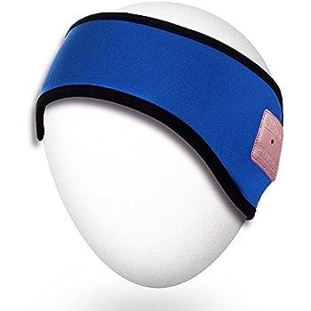 be48ab83f2d Amazon.com  Qshell Winter Unisex Wireless Bluetooth Headband ...