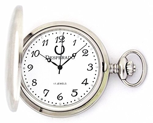 Mechanical Pocket Watch Plated (Desperado