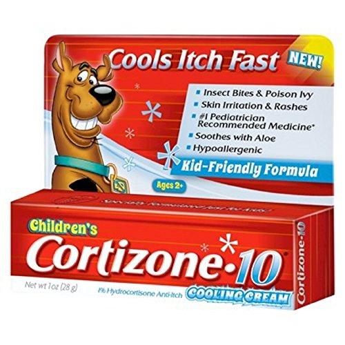 Refroidissement Cream cortisone 10 enfants, une once (Pack 3)
