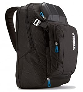 Thule Crossover TCBP-217 Backpack for 17-Inch Ultrabooks/Macbook/Pro/Air Laptop and iPad (Black) from Case Logic