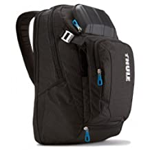 Thule Crossover TCBP-217 Backpack for Ultrabooks/Macbook/Pro/Air Laptop and iPad, 17-Inch (Black)