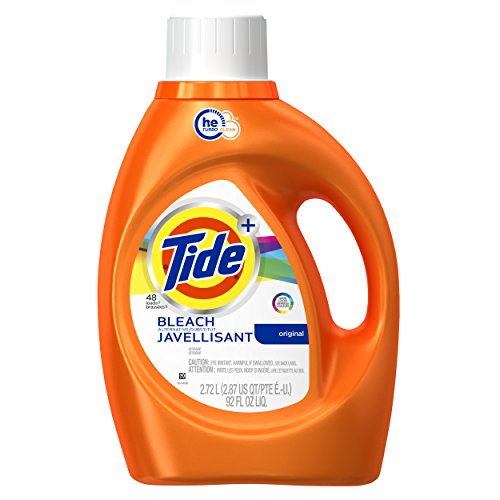 Tide Plus Bleach Alternative HE Turbo Clean Liquid Laundry Detergent, 92 oz, 48 loads (Tide Pods Clean Breeze compare prices)