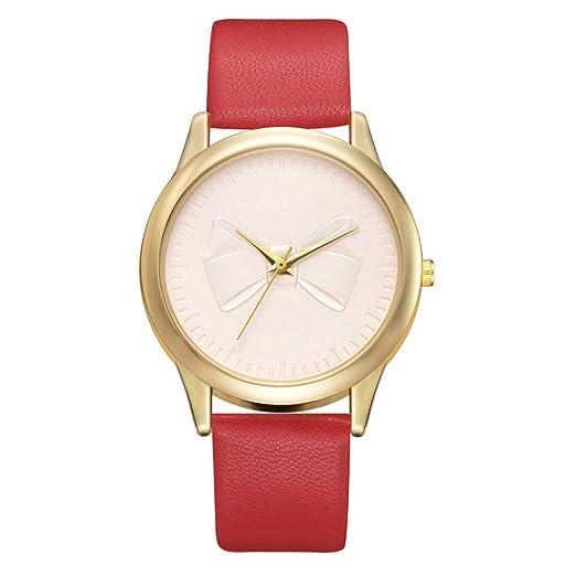 VEHOME Cuero clásico - Ms. Reloj de cuarzo-XR3153-Relojes Inteligentes relojero Reloj reloje de Pulsera Marcas Deportivos: Amazon.es: Relojes