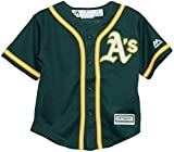 Oakland Athletics Green Cool Base Toddler Jersey