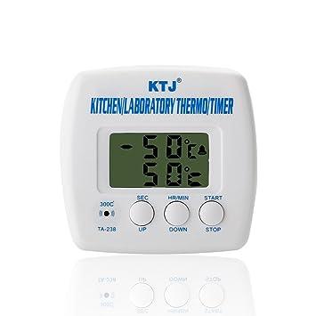 AGM® Digital KTJ Thermometer LCD elektronische Küche BBQ Labor ...