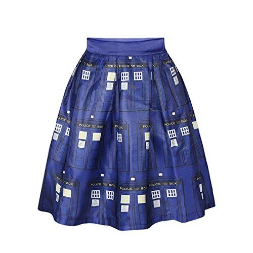 Femme Jupe de Jupe Robe Line Impression Shorts A Mini 17 Plage Jupon Court de Plisse Jupe Soire YICHUN Skirt gd0w4g