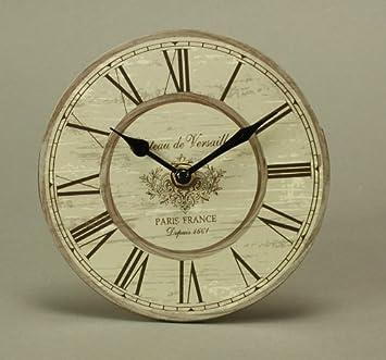 Mini Wanduhr Design Kchenuhr Uhr Vintage 15cm Chateau De Versailles