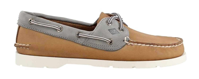 Men's Leeward Boat Shoe Linen 7 M