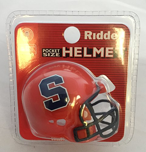 Syracuse Orange Helmet Riddell Pocket Pro VSR4 Style