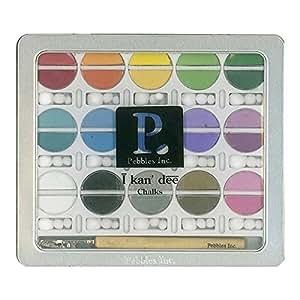 Pebbles I Kan'dee Chalk Set-Basic Brights by Pebbles