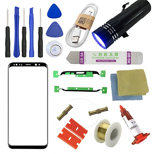 Galaxy S8/ S8+ Front Glass Screen Replacement Kit