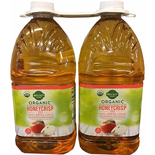Wellsley Farms Organic Honeycrisp Apple Juice, 2 pk./96 oz.