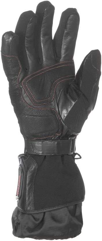 Mobile Warming Unisex-Adult Barra Leather//Textile Heated 12v Gloves Black XXX-Large MWG16M05-3XL-BLK
