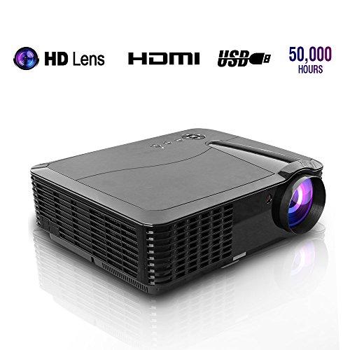 EUG 3500 Lumens LCD Digital Video Projector Support Full HD