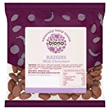 Biona Organic Raisins Milk Chocolate 60g - Pack of 6