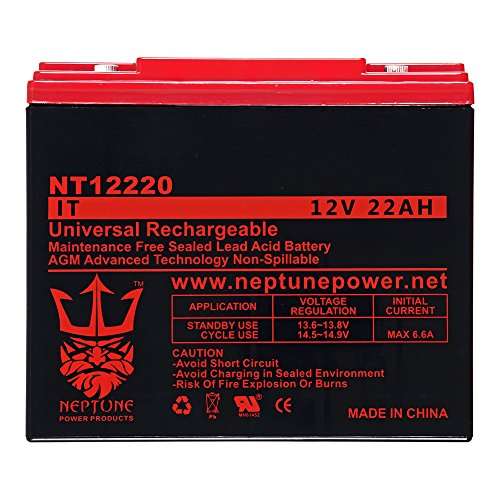 Schumacher Electric PP-2200 PORTABLE OUTDOOR POWER UNIT (SP12-22) 12V 22Ah SLA Replacement Jumper Starter Battery by Neptune