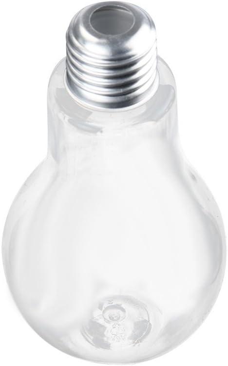 Longra Botella Nueva Bombilla de Agua de Botella de Jugo de Leche Bombillas Copa