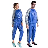 MINIRAH! Sauna Suit Weight Loss Boxing Gym Fitness Workout Fat Burner Sweat Suits for Men Women