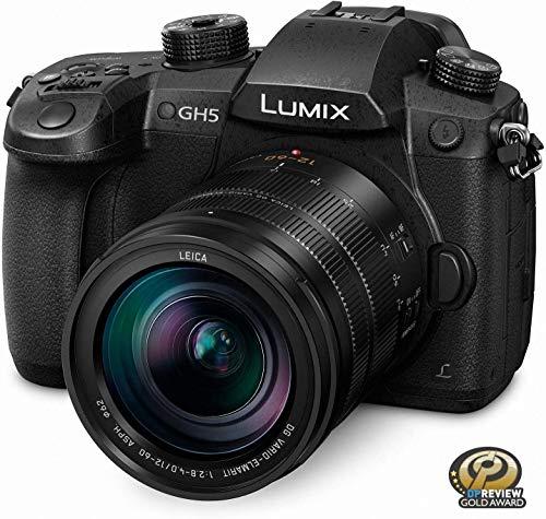 Panasonic LUMIX GH5 4K Mirrorless Camera with Lecia Vario-Elmarit 12-60mm F2.8-4.0 Lens (DC-GH5LK) 1